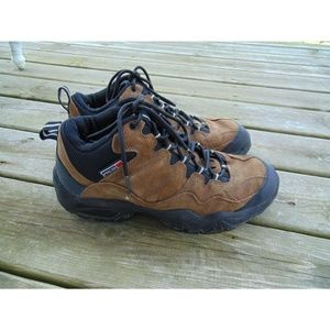 Nike ACG Size 13 Leather Hiking Trail Boots Brown